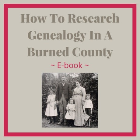 How to research genealogy in a Burned County