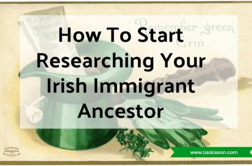 Many readers' emails center around researching the genealogy of an immigrant Irish ancestor.  Researching their family line has revealed an Irish ancestor. Time to start searching the  Irish records to find where they lived in Ireland and  when they came to America. Wait, not so fast!
