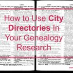 How to Use City Directories In Your Genealogy Research