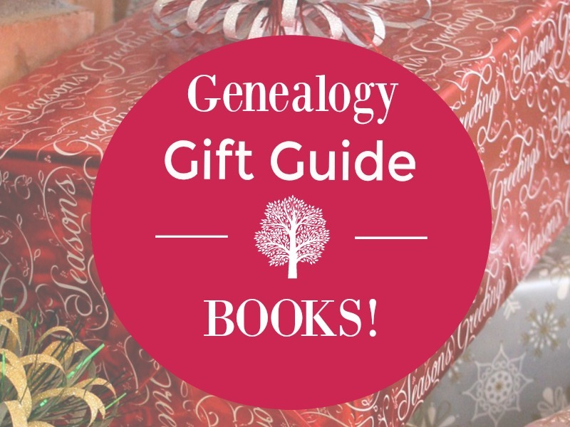 Genealogy books make great gifts for the genealogist and family historian in your family. Fiction or non-fiction are included in this Genealogy Gift Guide.