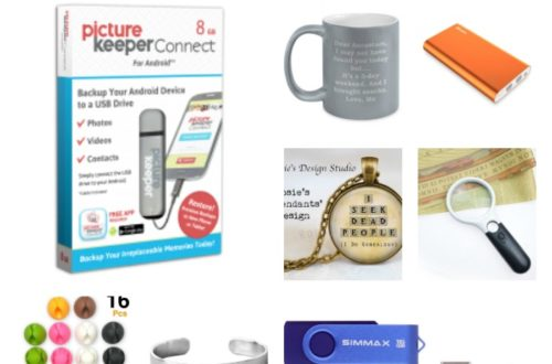 Enjoy these Genealogy stocking stuffer ideas for the genealogist and family historian on your Christmas list. From jewelry to tech, find many options.