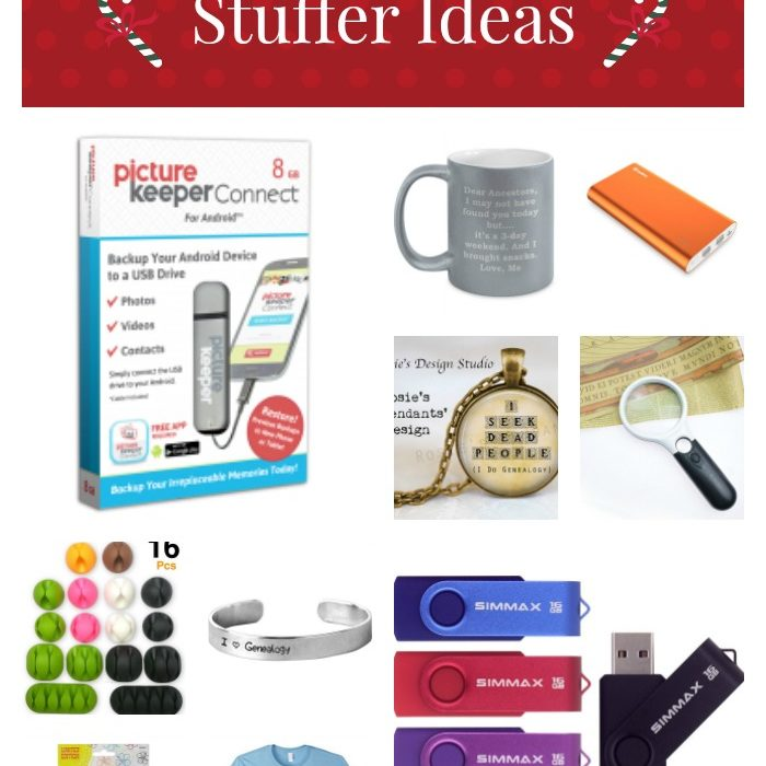 Gift Guide to Genealogy Stocking Stuffer Ideas