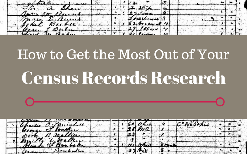 How To Get The Most Out of Your Census Records Research