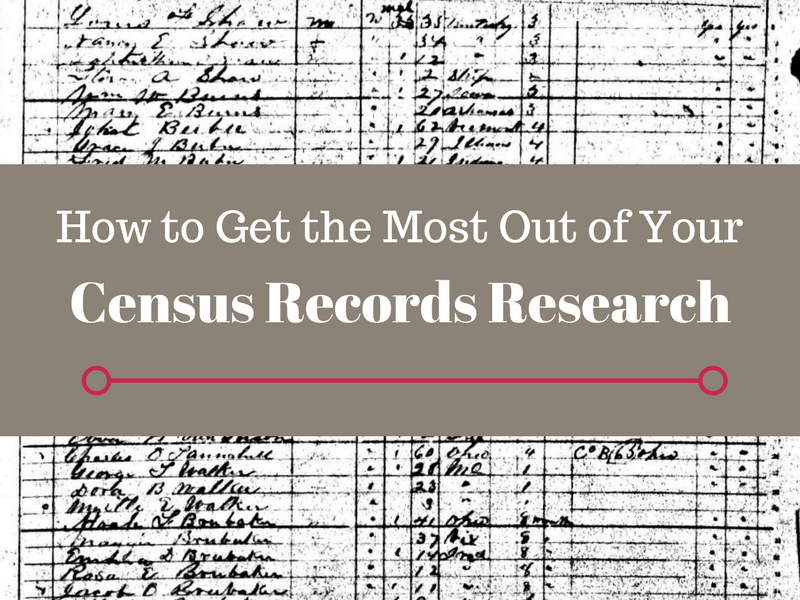 Census records are some of the first records genealogy researchers utilize. Are you understanding all of the details and clues in a census year?