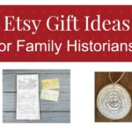Etsy Gift Guide for Genealogists