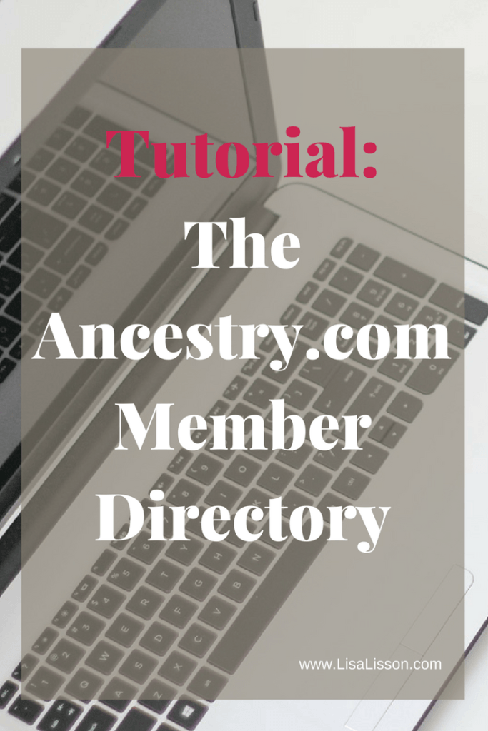 Use Ancestry.com's Member Directory to find other genealogy researchers with your research interests. It might be just the jump start your research needs.  #genealogy