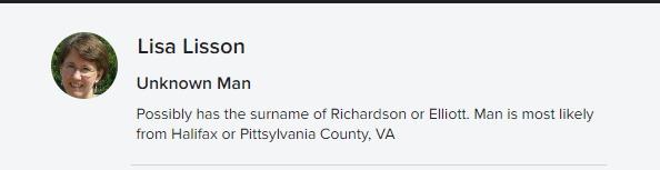 Flickr photo description for ancestor