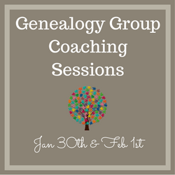 Genealogy Group Coaching