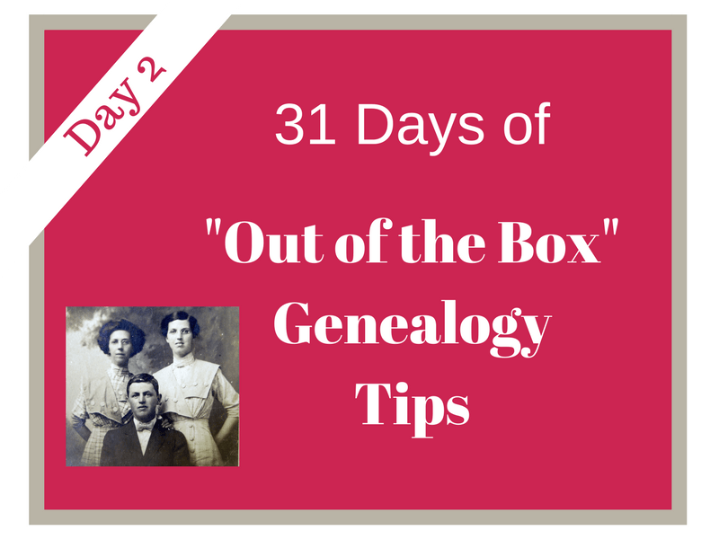 "Day 2 of ""31 Days of Out of the Box Genealogy Tips"" involves exploring genealogy wikis. Wikis can be another source to find valuable clues to use in your research. #genealogy #genealogytips #areyoumycousin #ancestors #familyhistory"