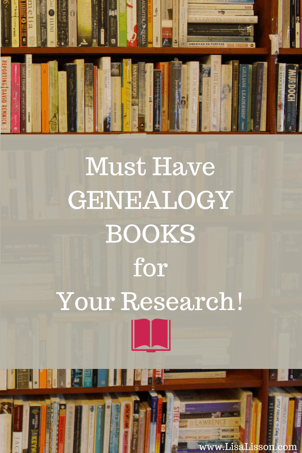 Do you have a favorite genealogy book you use  in your research? Click through and see mt favorite resource books I use when searching for my ancestors. #genealogy #books #familyhistory
