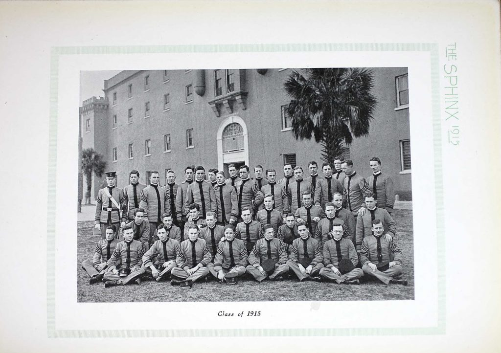 Class of 1915 - The Citadel, South Carolina