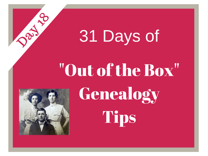 Non-population schedules benefit the genealogy researcher by providing an opportunity to learn more an ancestor and their role in the community.