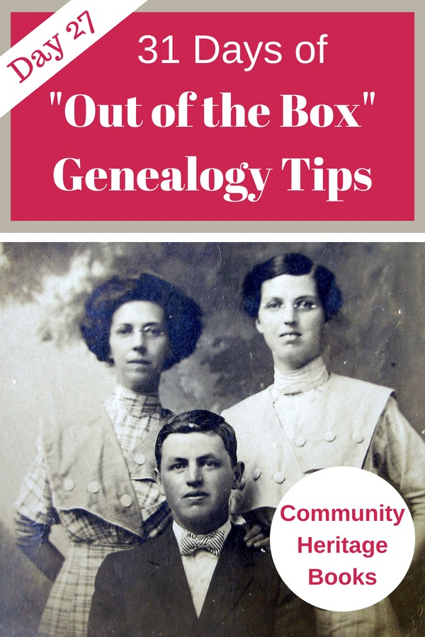 County heritage books contain information on the county, its residents and information on its families. Great for genealogy research!