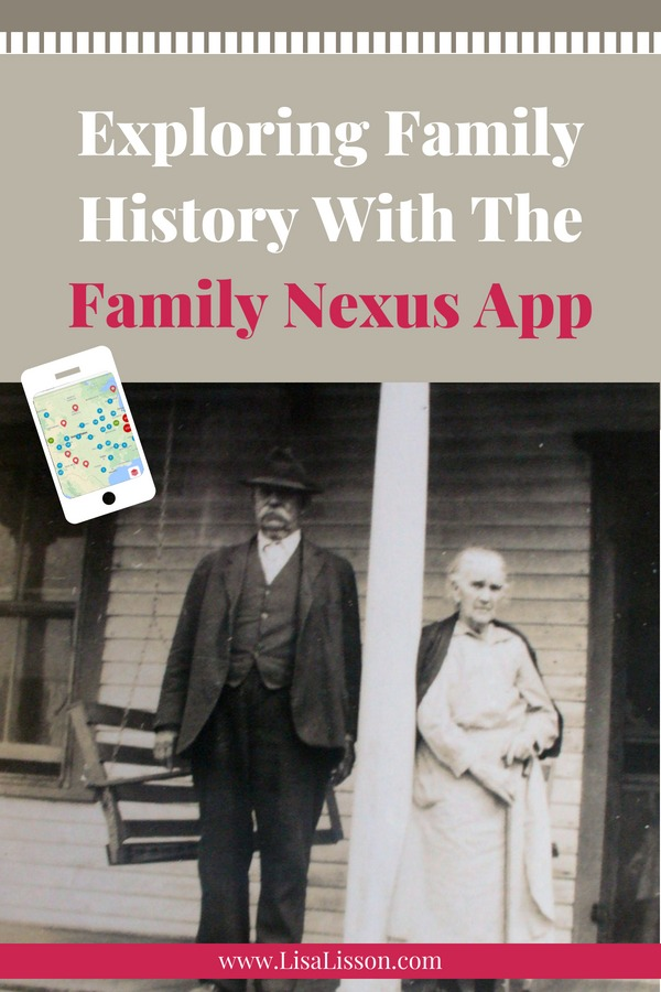 The Family Nexus App allows you to explore where your ancestors' life events took place and walk where your ancestors walked! #genealogy #ancestry #areyoumycousin #familyhisory #familynexus