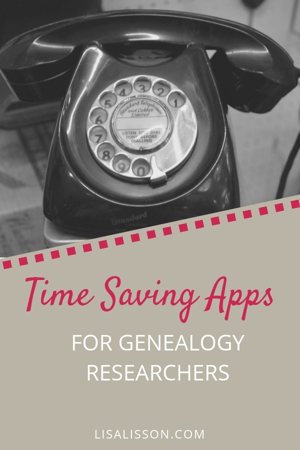 Use time saving apps to boost your genealogy research efficiency! #areyoumycousin #genealogy #timesaving #ancestors
