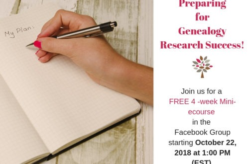 Preparing for Genealogy Research Success