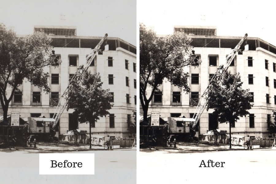 Learn how to restore and fix old family photos using Vivid-Pix. Discover new clues to your family history research!#genealogy #familyhistory