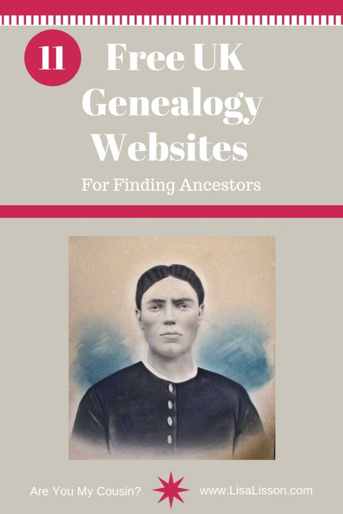 Get started finding your UK ancestors the frugal way. Totally free genealogy websites for you your UK genealogy research. #genealogy #free #ancestors