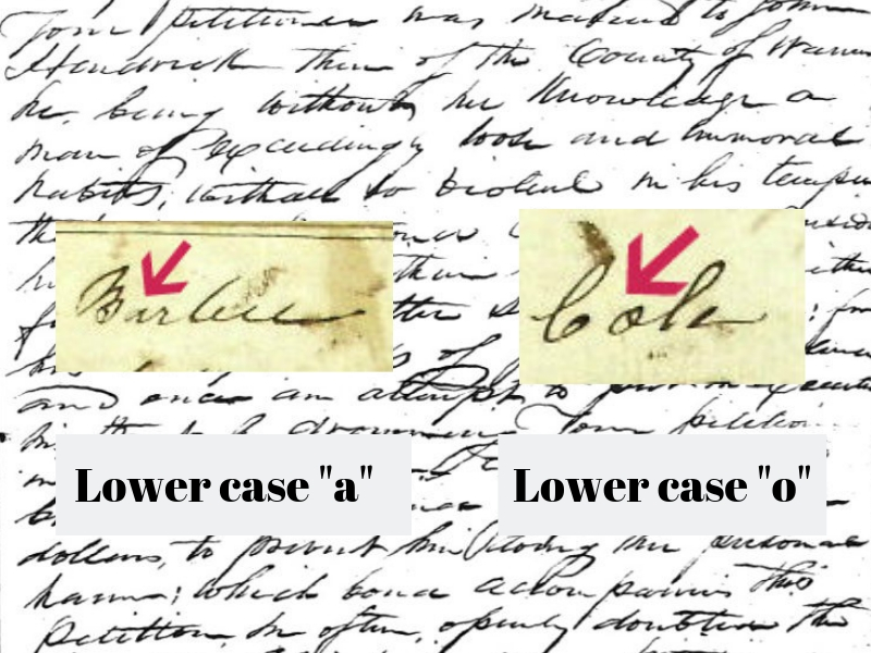 Faded, old handwriting stalling your genealogy research? Simple tips for deciphering that old faded handwriting and learning more about your ancestors. #genealogy #ancestors #familyhistory