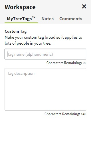 Try Ancestry.com's NEW MyTree Tags tool. Use tags (or labels) to improve your family tree organization and manage your genealogy research projects easier. #genealogy #familytree #ancestors