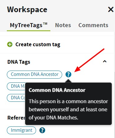 Try Ancestry.com's NEW MyTree Tags tool. Use tags (or labels) to improve your family tree organization and manage your genealogy research projects easier. #genealogy #ancestors #familyhistory