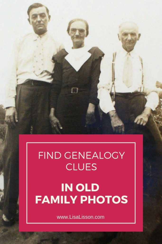 Are you finding all the genealogy clues hidden in your old family photos? Use those vintage photos of your ancestors to learn more about your ancestors. #imagealliance #realcamerasrock #genealogy #oldfamilyphotos