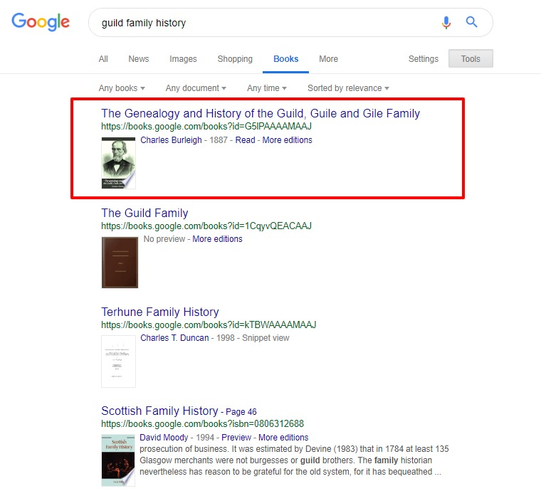 Are you overlooking this free source of genealogy ebooks? Explore how to use Google books to find thousands of free family histories! #genealogy #familyhistory #ancestors