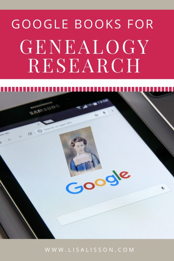 Are you overlooking this free source of genealogy ebooks? Explore how to use Google books to find thousands of free family histories! #genealogy #familyhistory #googlebooks