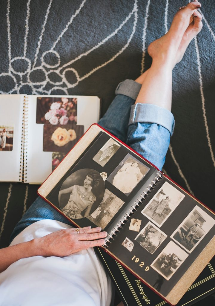 Old Family Photo Album